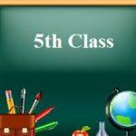 G 5th Class
